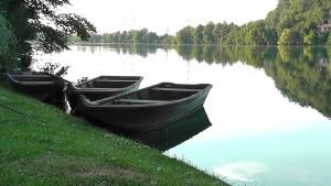 Zillen Fischerhaus am Ufer