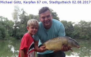 ASVGötzMichaelStadtguteichKarpfen20170802